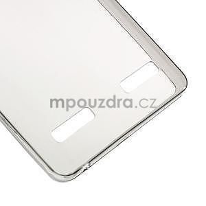 Gelový slim obal na Lenovo A6000 - šedé - 5