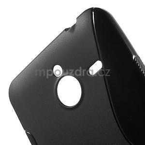 S-line gelový obal na Microsoft Lumia 640 XL - černý - 5