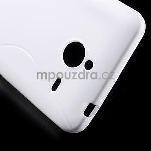S-line gélový obal pre Microsoft Lumia 640 XL - biely - 5