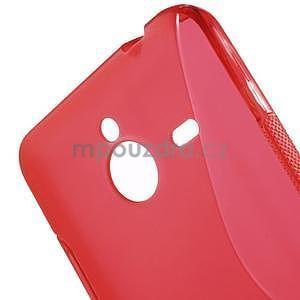 S-line gelový obal na Microsoft Lumia 640 XL - červený - 5