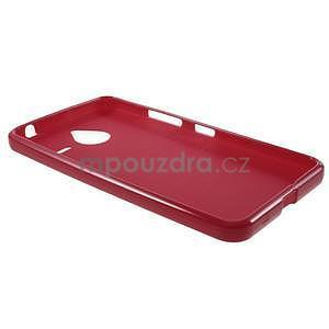 Červený gelový obal pro Microsoft Lumia 640 XL - 5