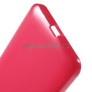 Rose gelový obal pro Microsoft Lumia 640 XL - 5