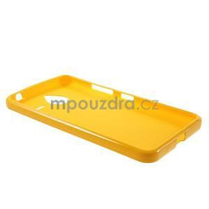 Žlutý gelový obal pro Microsoft Lumia 640 XL - 5
