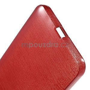 Gelový kryt s broušeným vzorem Microsoft Lumia 640 XL - červený - 5