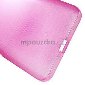 Gelový kryt s broušeným vzorem Microsoft Lumia 640 XL - rose - 5