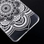 Transparentní gelový obal na Microsoft Lumia 640 XL - květina - 5/5