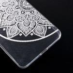 Transparentní gelový obal na Microsoft Lumia 640 XL - lotus 2 - 5/5