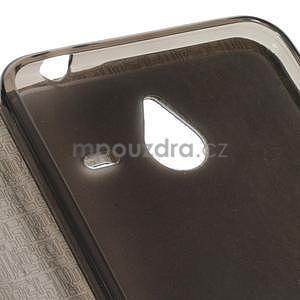 Tmavě modré klopové pouzdro pro Microsot Lumia 640 XL - 5