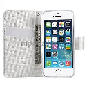 Cool Style pouzdro na iPhone 5 a iPhone 5s - bílé - 5