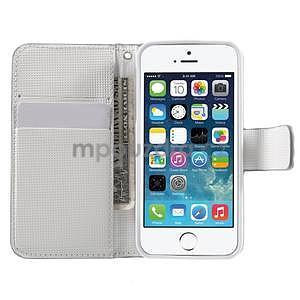 Cool Style pouzdro na iPhone 5 a iPhone 5s - stříbrné - 5