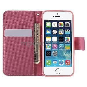 Cool Style pouzdro na iPhone 5 a iPhone 5s - růžové - 5