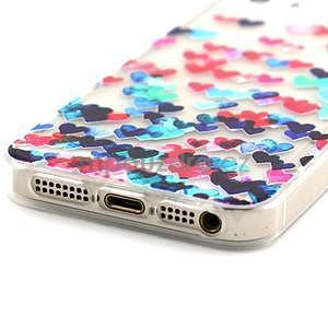 Fun gelový obal na iPhone 5s a iPhone 5 - srdíčka - 5