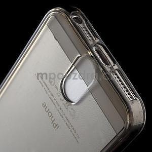 Ultra tenký obal s kapsičkou pro iPhone 5 a 5s - šedý - 5