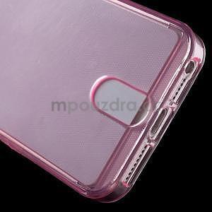 Ultra tenký obal s kapsičkou pro iPhone 5 a 5s - rose - 5