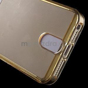 Ultra tenký obal s kapsičkou pro iPhone 5 a 5s - champagne - 5