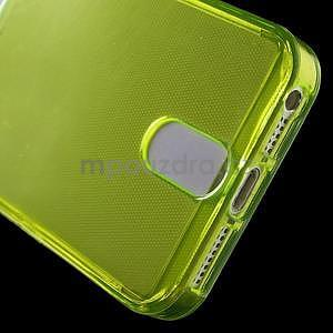 Ultra tenký obal s kapsičkou pro iPhone 5 a 5s - zelenožlutý - 5