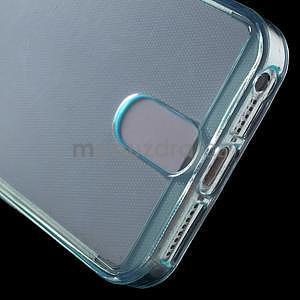 Ultra tenký obal s kapsičkou pro iPhone 5 a 5s - modrý - 5