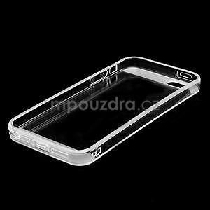 Transparentní gelový obal na iPhone 5/5s - 5