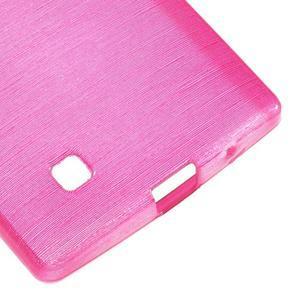Brush gelový kryt na LG G4c H525N - rose - 5