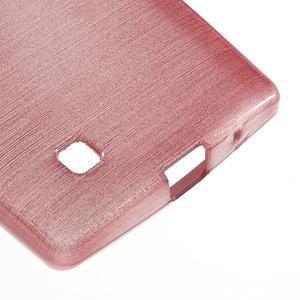 Brush gelový kryt na LG G4c H525N - růžový - 5