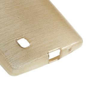 Brush gelový kryt na LG G4c H525N - champagne - 5