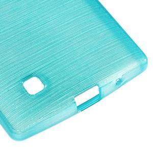 Brush gelový kryt na LG G4c H525N - modrý - 5