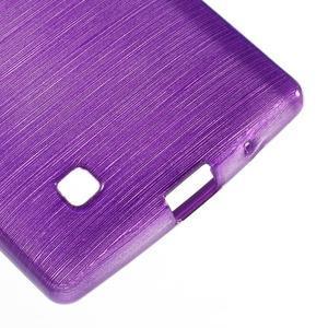 Brush gelový kryt na LG G4c H525N - fialový - 5