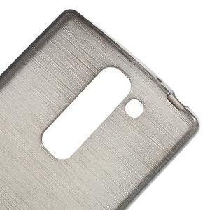 Brush gelový kryt na LG G4c H525N - šedý - 5