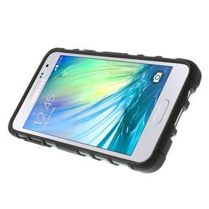 Outdoor odolný kryt na mobil Samsung Galaxy A3 - černý - 5