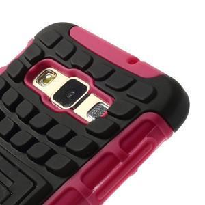 Outdoor odolný kryt na mobil Samsung Galaxy A3 - rose - 5