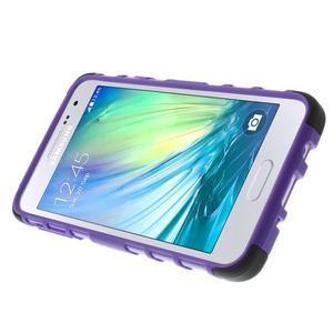 Outdoor odolný kryt na mobil Samsung Galaxy A3 - fialový - 5