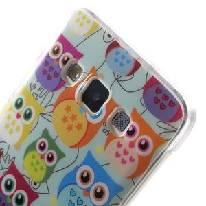 Gelový obal na mobil Samsung Galaxy A3 - sovičky - 5