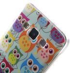 Gelový obal na mobil Samsung Galaxy A3 - sovičky - 5/5