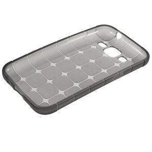 Square matný gelový obal na Samsung Galaxy Core Prime - šedý - 5