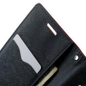 Fancy PU kožené pouzdro na Samsung Galaxy Core Prime - červené - 5