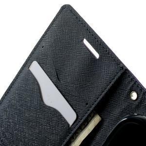 Fancy PU kožené pouzdro na Samsung Galaxy Core Prime - fialové - 5
