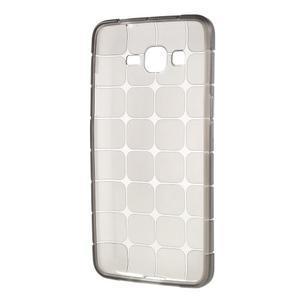 Square gelový obal na Samsung Galaxy Grand Prime - šedý - 5