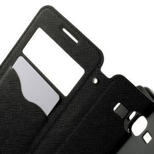 Safety pouzdro s okýnkem pro Samsung Galaxy Grand Prime - černé - 5