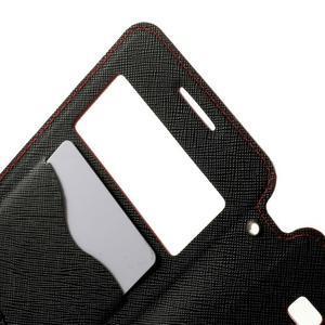 Safety pouzdro s okýnkem pro Samsung Galaxy Grand Prime - červené - 5