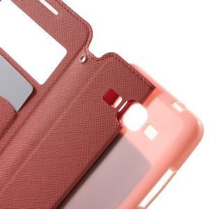 Safety pouzdro s okýnkem pro Samsung Galaxy Grand Prime - rose - 5