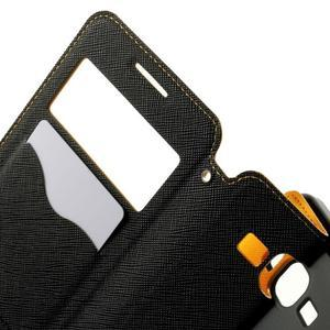Safety pouzdro s okýnkem pro Samsung Galaxy Grand Prime - žluté - 5