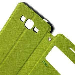 Safety pouzdro s okýnkem pro Samsung Galaxy Grand Prime - zelené - 5