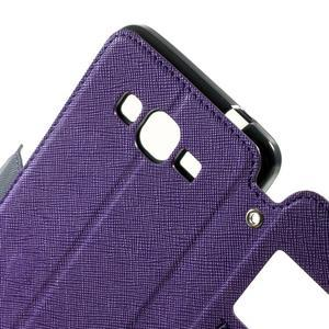 Safety pouzdro s okýnkem pro Samsung Galaxy Grand Prime - fialové - 5