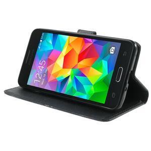 Wallet PU kožené pouzdro na mobil Samsung Galaxy Grand Prime - UK vlajka - 5