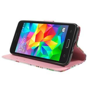 Wallet PU kožené pouzdro na mobil Samsung Galaxy Grand Prime - sovičky - 5