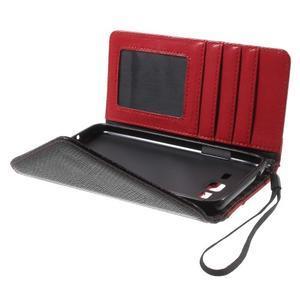 Writes elegantní pouzdro na Samsung Galaxy Grand Prime - červené - 5
