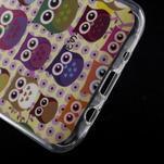 Gelové pouzdro na mobil pro Samsung Galaxy J5 - sovičky - 5/5