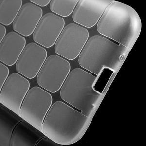 Square matný gelový obal na Samsung Galaxy J5 - transparentní - 5