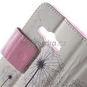 Vzorové peněženkové pouzdro na Samsung Galaxy Xcover 3 - odkvetlá pampeliška - 5