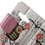 Vzorové peněženkové pouzdro na Samsung Galaxy Xcover 3 - sova - 5/7